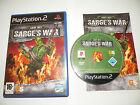 PS2 jeu army men SARGE'S WAR PLAYSTATION 2 complet parfait état PAL