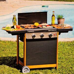 garten camping gas grill barbecue bbq gasgrill mit wagen. Black Bedroom Furniture Sets. Home Design Ideas