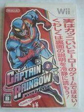 Nintendo Wii Captain Rainbow Japan F/S