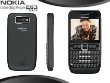 Nokia E63 Mobile - WiFi ! Black ! QWERTY ! GSM ! FM ! Call Recording ! Camera