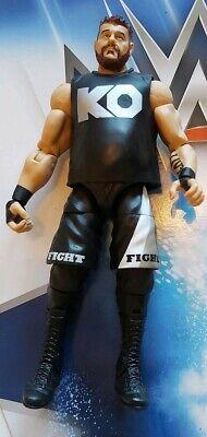 100% Vero Wwe Wrestling Figura Mattel Elite Kevin Owens-mostra Il Titolo Originale