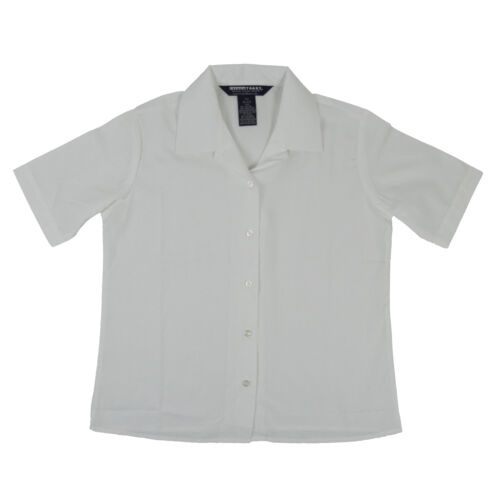 Girls White Blouse Pointed Collar French Toast Uniform Plus Size 10 1//2-18 1//2