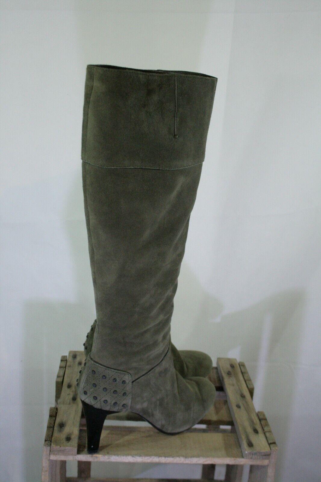 c206893a0c59f9 Tolle olive schwarze Tod´s Stiefel 39 373 bitte messen Gr. 43 nofdme3845- Kleider