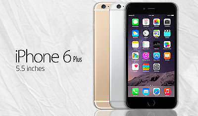 Apple iPhone 6s 6 Plus 128GB GSM Factory Unlocked Smartphone Gold Gray Silver WT