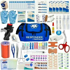 First Aid Trauma Kit First Responder Bag Outdoor Family Survival Medical Kit EMT