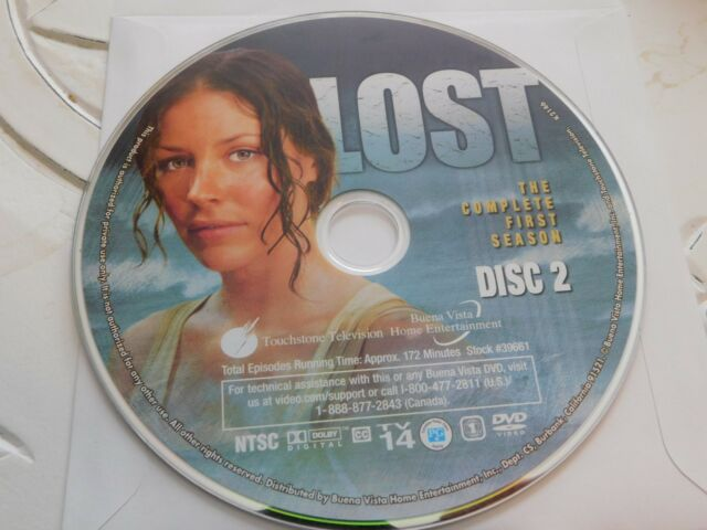 Lost Season 2 Disc 1 Replacement Disc DVD for sale online | eBay