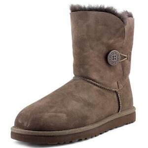 ugg australia womens bailey button boots 5803 chocolate 6 ebay rh ebay com