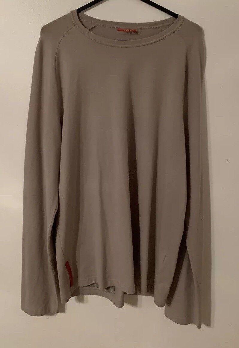 Genuine Prada Long Sleeve T Shirt - Size M