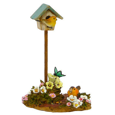 Wee Forest Folk Miniature Figurine A-10 - Birdhouse Accessory
