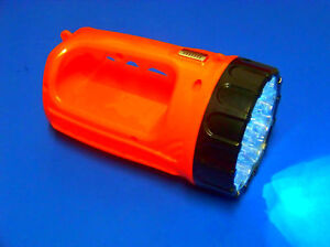 2 pc 15 LED RECHARGEABLE WORK LIGHT FLASHLIGHT TOOLS
