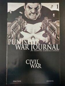 PUNISHER-War-Journal-1-Civil-War-2006-MARVEL-Comics-VF-NM