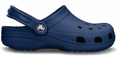 Crocs Signore E Signori Sportclog Freizeitclog Scarpe Classic Clog Navy-blu-mostra Il Titolo Originale