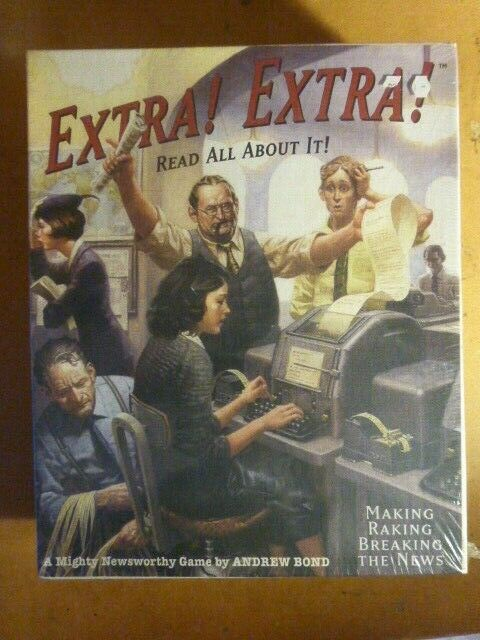 Extra  EXTRA  Non Perforé IN SHRINK par Mayfair Games