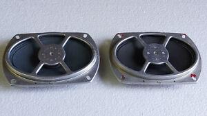 Deux-haut-parleurs-elliptiques-Tourne-disque-PHILIPS-RADIOLA-Piece-detachee