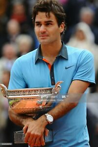 Polo tennis Nike Roger Federer, Roland Garros 2009, taille S