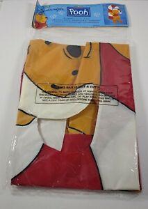 """Vintage 1997 Windsculpts Yard Flag Winnie The Pooh Christmas 28"""" W X 50"""" L"""