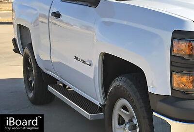 "iBoard Side Steps Nerf Bars 4/""  Fit 99-16 Silverado//Sierra Regular Cab"