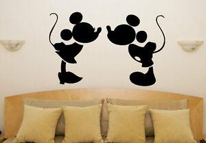 Stickers Cameretta Disney : Mickey minni baci disney cameretta bambini decalcomania camera da