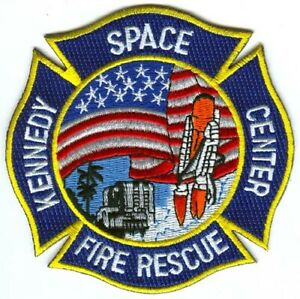 Kennedy-Space-Center-Fire-Rescue-Department-NASA-Patch-Florida-FL