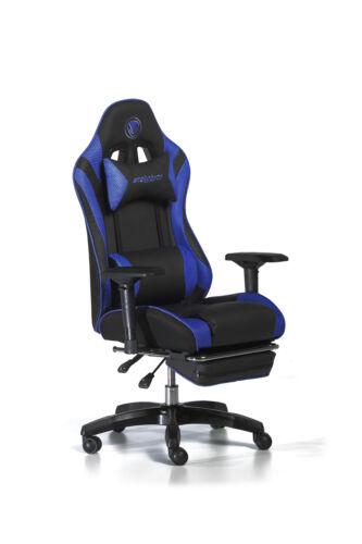 Snakebyte Gaming:Seat™ blau Spielerstuhl Gaming Chair Bürostuhl Chefsessel