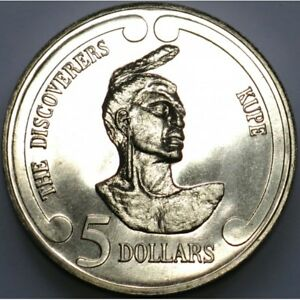25th Anniversary 1992 Decimal Brilliant Uncirculated $5 Coin New Zealand