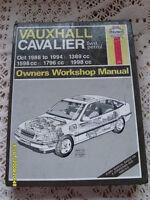 Haynes Vauxhall Cavalier Petrol (Oct 1988 to 1994)