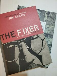 Journalism-amp-The-Fixer-by-Joe-Sacco-Book-Bundle-box-14