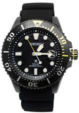 Seiko Prospex SNE441 Black Rubber Band Diver's Men's Watch