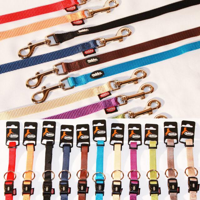 Nobby Classic Collare per Cane Welpen-Senior Guinzaglio 4Größen 10 Colori