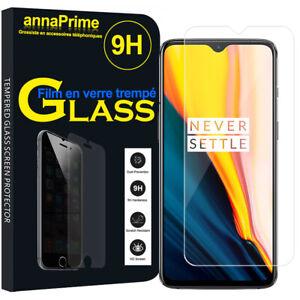 Lot-Pack-Film-Verre-Trempe-Protecteur-Ecran-pour-OnePlus-7-6-41-034-GM1901
