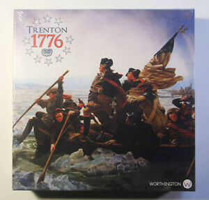 Trenton 1776 Board Game Worthington Games Brand New In Shrink Wrap
