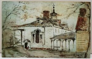 Mount Vernon Mansion and North Colonnade by Winslow Homer Postcard D6