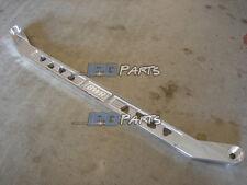 BWR USA Blackworks Billet Rear Lower Tie Bar Polished Civic Integra EG DC