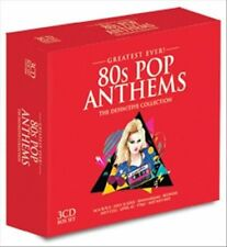 Greatest Ever! 80s Pop Anthems by Various Artists (CD, Sep-2013, 3 Discs,...