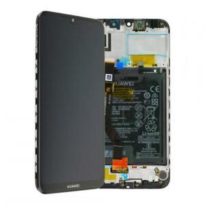 D-039-origine-Huawei-y7-2019-dub-l21-ecran-LCD-avec-cadre-et-batterie-Noir