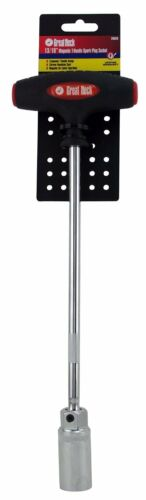 Professional Mechanics Magnetic T-Handle 13//16-Inch Spark Plug Socket Tool