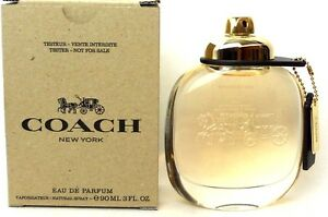Coach-New-York-by-Coach-3-0-oz-90-ml-Women-Perfume-EDP-Spray-Brand-New-Tester