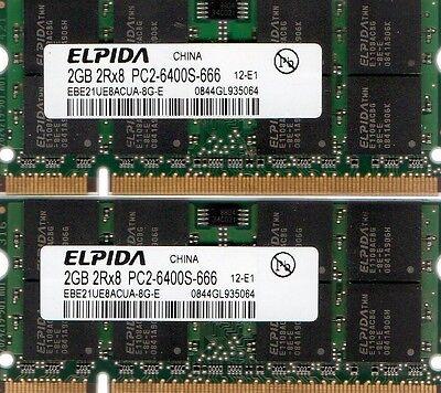 RAM Memory Upgrade for the Compaq Pavilion dv6500z 2x2GB 4GB Kit