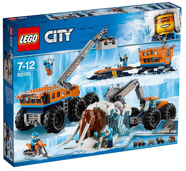 LEGO CITY 60195 esplorazione dell'Artide mobile base ~ NUOVO ~