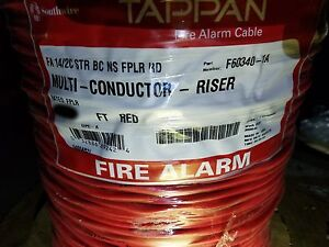 Southwire/Tappan F60340 580132 14/2C Stranded Fire Alarm Cable Riser ...