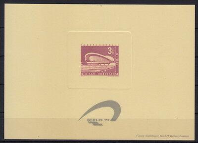 Berlin: (*) Mi 154. - Neudruck Block Briefmarkenausstellung 1972 (b047n#2)