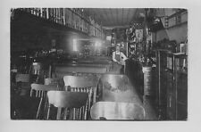 1913   Furniture Store Interior Mason City Iowa Real Photo Postcard RPPC