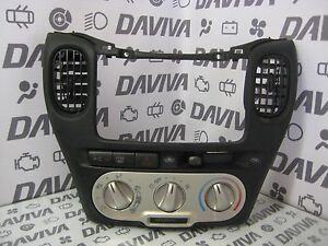 Details about 2004 Toyota Yaris RHD Dashboard Centre Surround Panel Air  Vents Climate Control