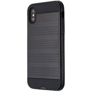 Verizon-Dual-Layer-Shell-Case-for-Apple-iPhone-XS-X-Black-Brushed