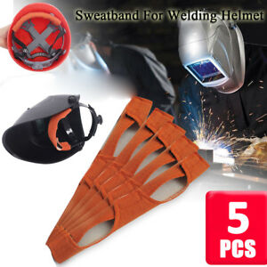 039f1660622b1 Image is loading 5x-Cotton-Welding-Helmet-Replacement-Sweatband-Sweat-Band-