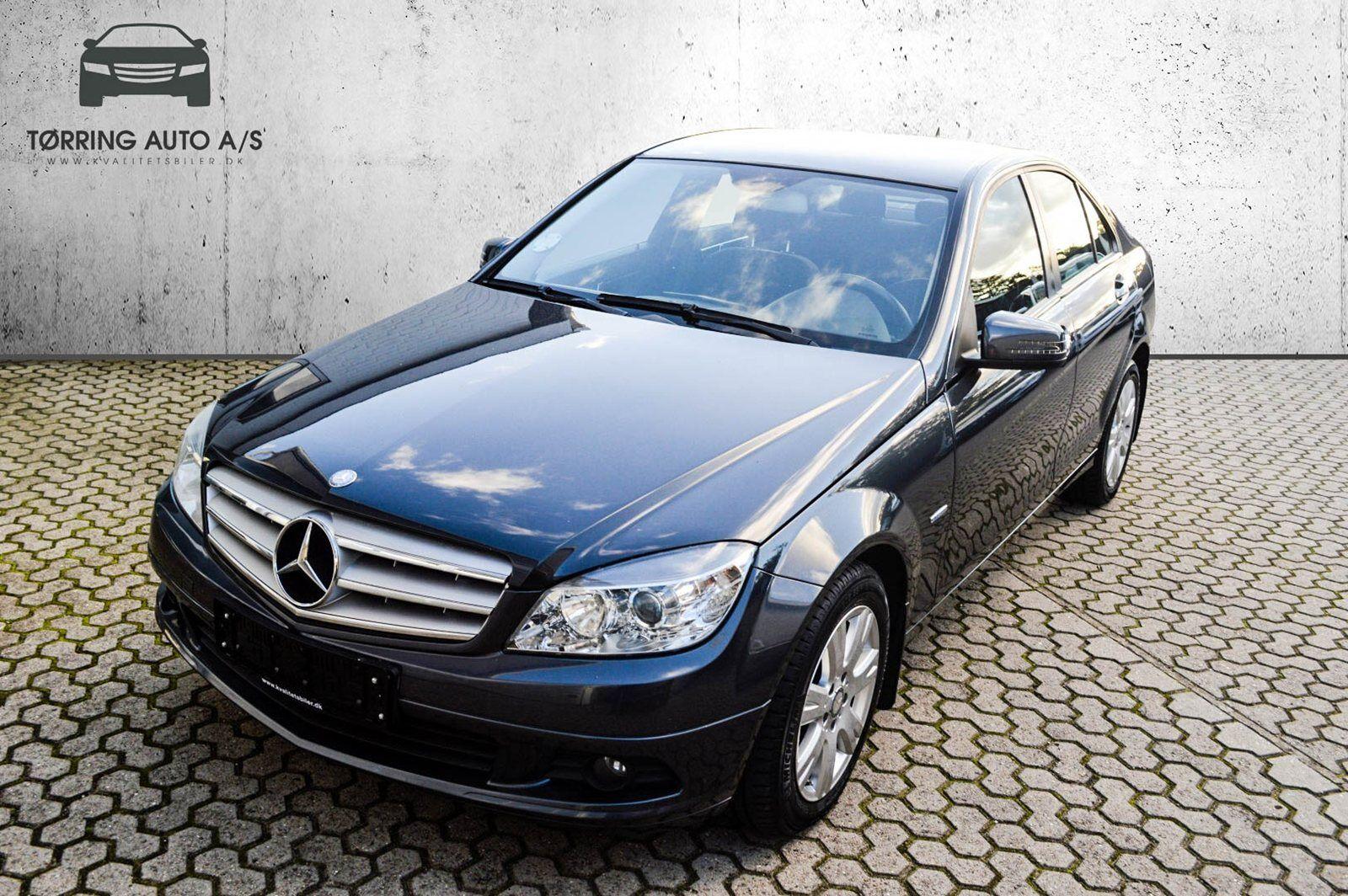 Mercedes C180 1,8 CGi aut. BE 4d - 189.900 kr.