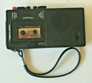 Vintage-Realistic-Micro-10-Microcassette-Tape-Recorder-Model-14-1016A-2-Speed