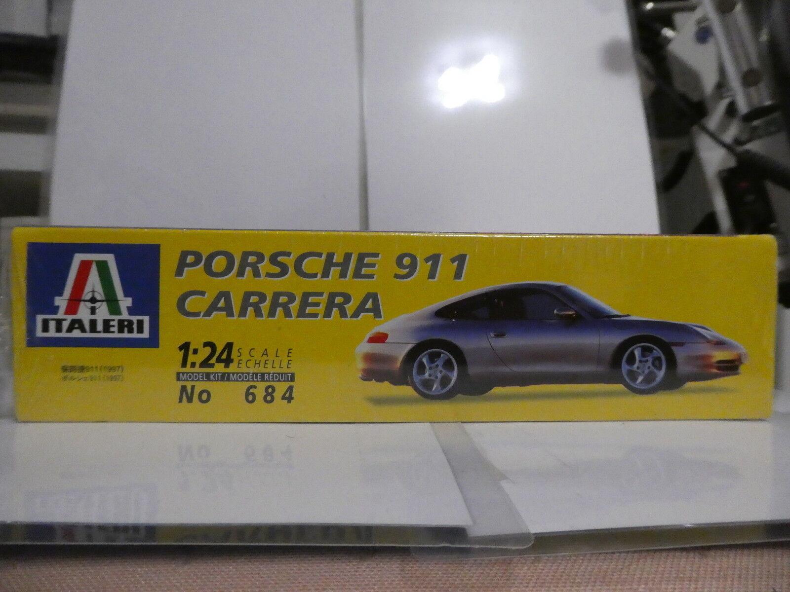 RARITÄT RARITÄT RARITÄT ITALERI PORSCHE 911 996 CARRERA 1996  1 24  NEU OVP de1fa3