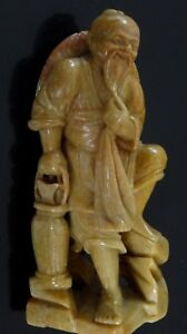 Sculpture-steatite-pecheur-pierre-Old-chinese-soapstone-carved-fisherman