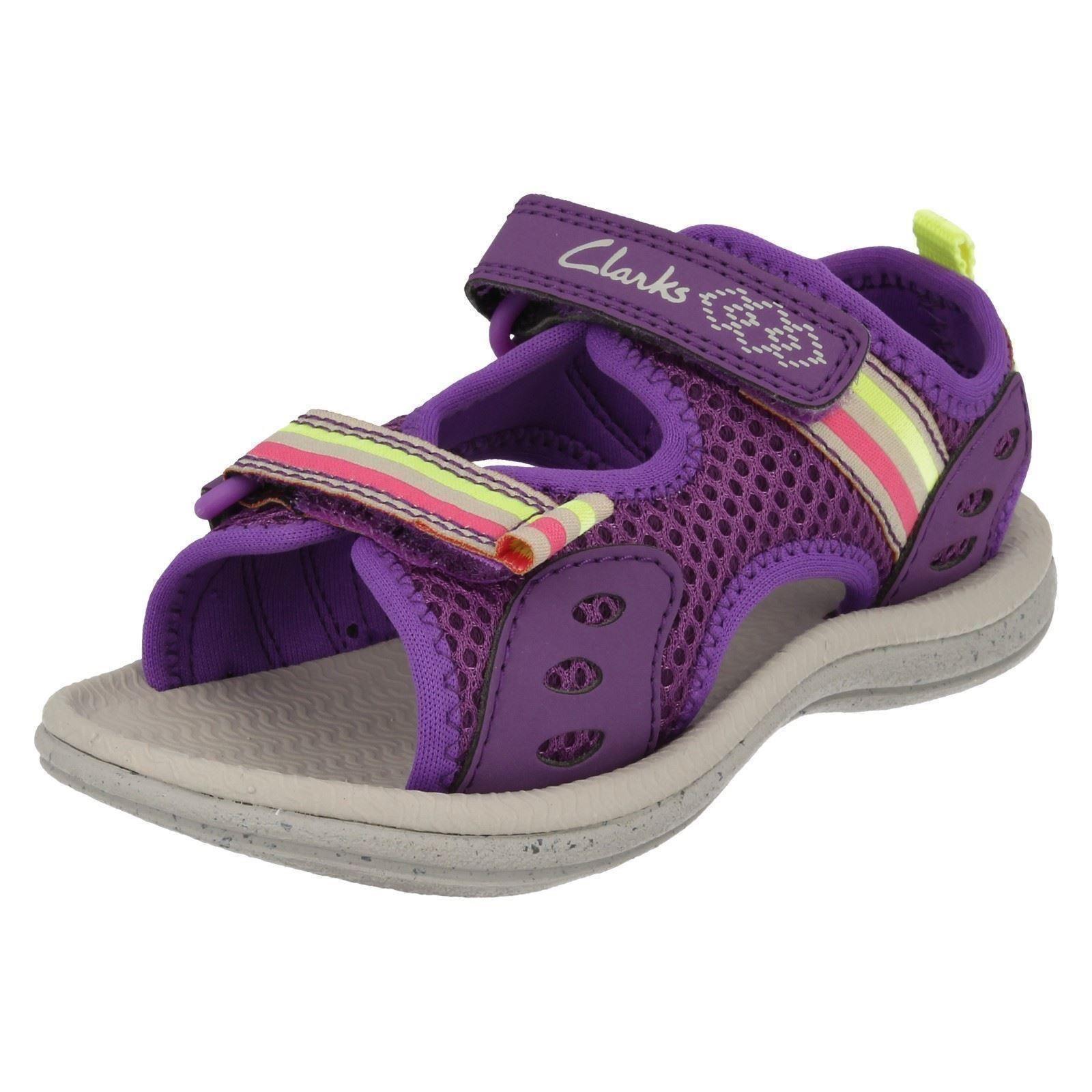 Girls Clarks Sandals /'Star Games/'